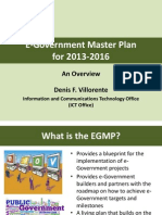 E-Government Master Plan