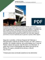4053 Justica Decreta Falencia Da Cooperativa de Credito
