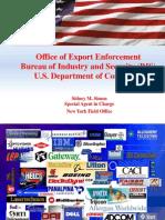 Office of Export Enforcement BIS-presentation