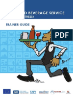 Waiter Trainer Guide English