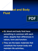Qi, Blood, And Body Fluids 105