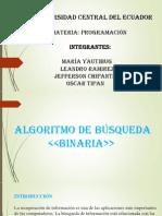Busqueda Binaria