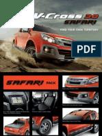 V Cross Safari Brochure