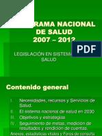 Programa Nacional de Salud
