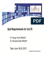 QoS Requirements for VoIP