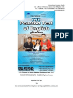 Pearson Test English (Pte)