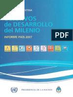 Republica Argentina - Objetivos Del Desarrollo Del Milenio - Naciones Unidas