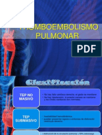 Tromboembolia Pulmonar Dx y TX Dr. Penalo Rii