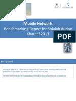 639 Mobile Network Drive Test Benchmarking Report Salalah