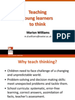Teaching Young Learners to Think Presentation