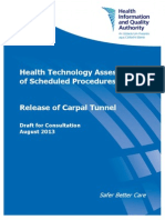 HTA Carpal Tunnel Syndrome Draft