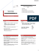 Módulo 1.0 - Programa e Critérios
