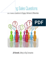 Winning Sales Questions