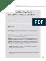 8. Soporte Universal Para Chasis Radiografico en Emulacion Virtual