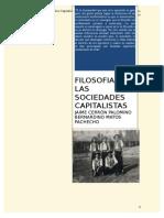 Filosofia de Las Sociedades Capitalistas