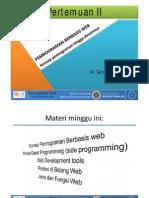 Materi 02a.konsep Pemrograman Berbasis Web#Pengantar