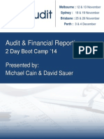 Audit & Financial Reporting (Boot Camp) 2