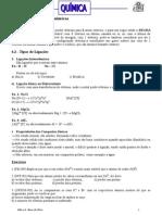 Apostila de Ligações Químicas (Iônica, Covalente e Metálica)
