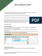 Credit Control Area Basic Setting