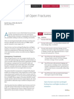 Surgical Repair of Open Fractures