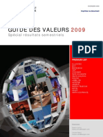Guide Des Valeurs Actual is at Ion S1 2009