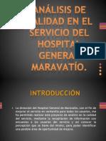 Análisis de Calidad en El Servicio Del Hospital