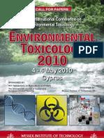 Environmental Toxicology 2010