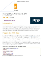 Parsing XML in Android With SAX - CodeProject