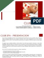 Presentacion Club Spa