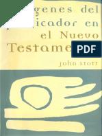 570 - John Stott Imagenes Del Predicador en El Nt x Eltropical