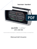 Manual Gp Harman Kardon