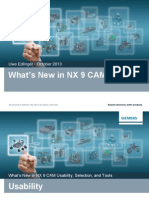 NX9 CAM Whats New V1
