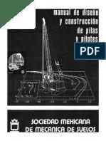 Manual de Diseño y Construcción de Pilas y Pilotes