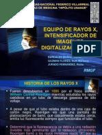 Pptx Rayos x Intensificador de Imagen Digitalizacion y Pacs