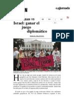 La Jornada- Hamas vs Israel- Ganar El Juego Diplomático