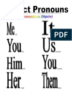 Pronouns Object