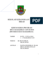Kertas Kerja Cadangan Ihya Ramadhan 1435 Sktbi Edited