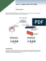 How to %c3%a2%e2%82%Ac%e2%80%9c Bypass IPSec VPN Traffic
