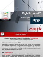 RightAccount - Account Holder Identification for Banks, Financial Organization