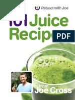 101 Juice Recipes - Cross, Joe