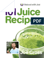 101 Juice Recipes - Cross, Joe