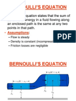 4. Bernoulli's Equation