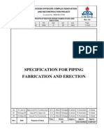 F500-0000-PI-SP-5003-D2-Specification For Piping  Fabrication And Erection.pdf