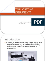 Rotary Cutting Instruments