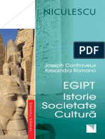Egipt Istorie Societate Cultura Joseph Confavreux. Alexandra Romano