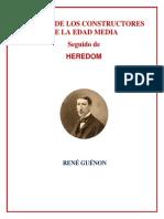 Rene Guenon Acerca Constructores Edad Media