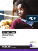 The Children's Society/StepChange Debt 'Debt Trap' Report May 2014