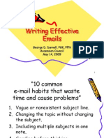 Writing Effective Emails KofC
