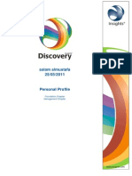 Insight Discovery Profile