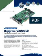 Digigram VX222v2 brochure